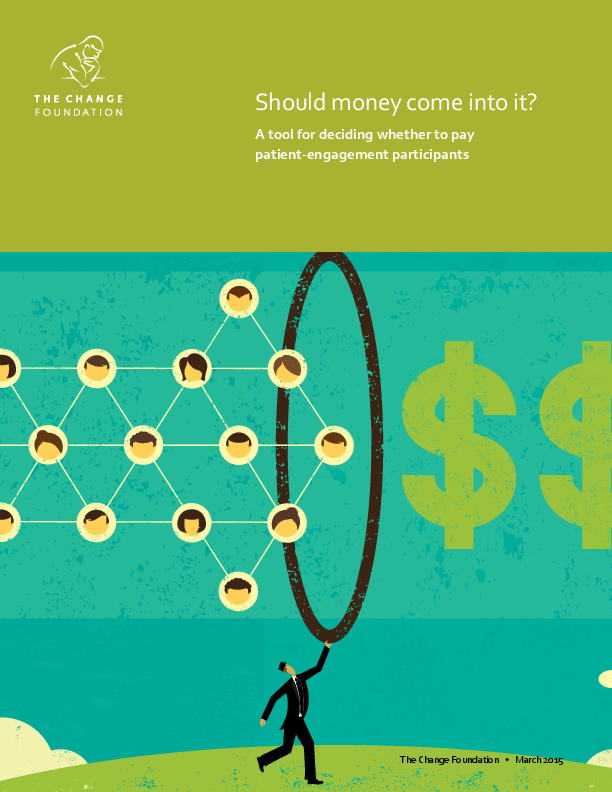 Patient/public involvement:  Should money come into it? (1)