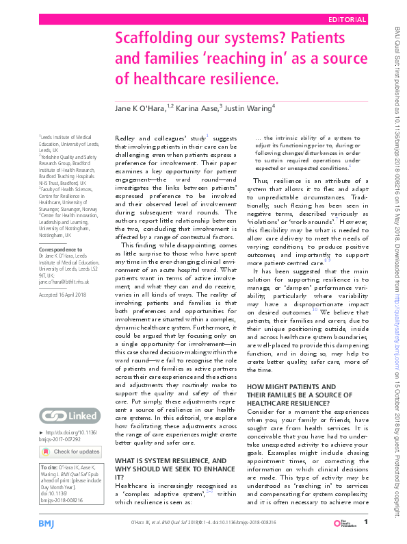 Patient powered resilience (92)